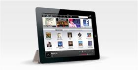 Gratis musik på iPad